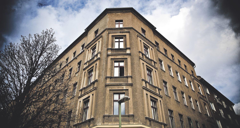Hausfassade; Thema: Modernisierung